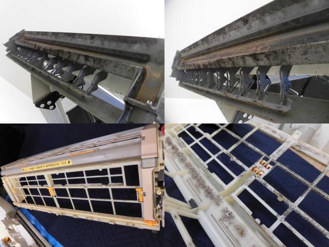 日立エアコンRAS-AJL56B2クリーニング