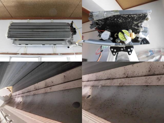 日立お掃除エアコンRAS-S36Dクリーニング