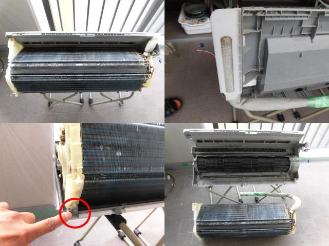 ダイキンお掃除エアコンAN56PTRXP完全分解クリーニング