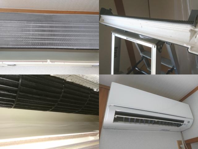 三菱エアコンのクリーニング