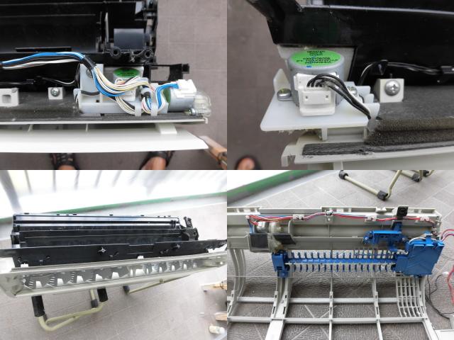 東芝エアコンRAS-402EDR完全分解クリーニング