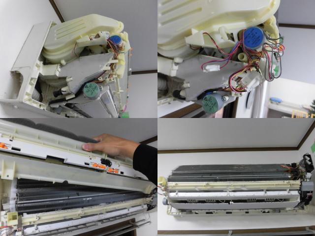 シャープお掃除エアコンクリーニング